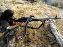مقاتلة من حزب العمال الكردستاني