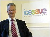 Mark Sismey-Durrant, chief executive of Icesave in the UK (credit: Icesave)