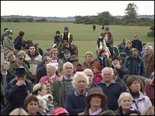 Protest at Wilverly Plain on Saturday