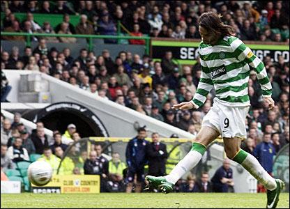Celtic striker Georgious Samaras