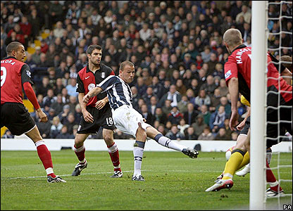 Roman Bednar scores for West Brom