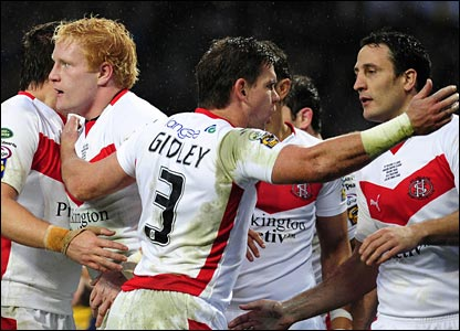 Man of Steel James Graham is the tryscorer but Matt Gidley ensures Gilmour is praised for his role