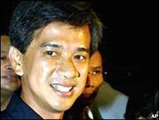 Bangkok mayor Apirak Kosayodhin (file image)