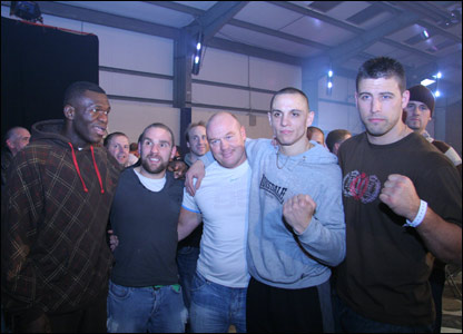 Herbie Hide, Jackson Willilams, Earl Ling, Danny McIntosh and Sam Sexton