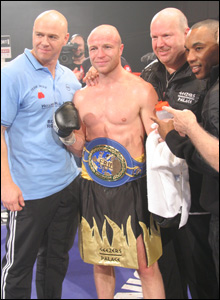 Dominic Ingle, Jon Thaxton, Graham Everett and Junior Witter