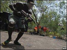 Oil militant