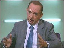 Nick Bourne on the Politics Show Wales
