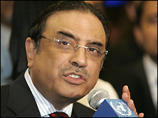 Asif Ali Zardari - 26/09/2008