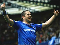 Joe Cole got the opening goal for Chelsea
