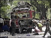 تفجير في العاصمة  السريلانكية كولومبو