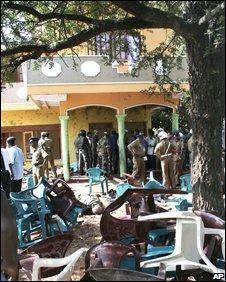 Blast scene in Anuradhapura, 06/10