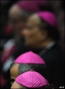 Catholic bishops in the Vatican