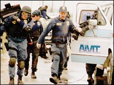 AFT agents at the Waco seige