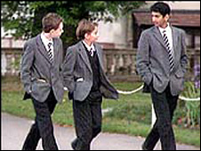 Boarding school pupils