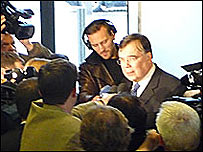El primer ministro island�s, Geir Haarde