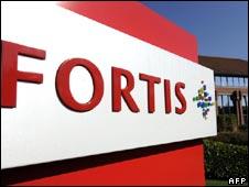 Fortis bank in Waterloo. File pic