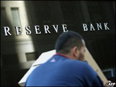 Reserve bank sign