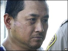 Vince Weiguang Li in a file photo from a court appearance on 5 August
