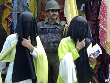 Women in Srinagar