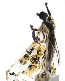 One of the disappearing dresses - picture Nick Knight
