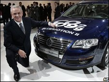 Volkswagen group chief Martin Winterkorn