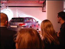 Avensis launch, Paris