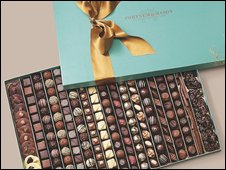 Fortnum and Mason chocolates