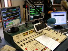 Radar Cultura's radio studio