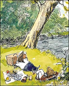 Wind in the Willows. Copyright: Estate of E. H. Shephard