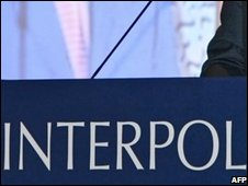 Interpol sign