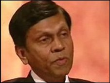 Ajith Cabraal, Governor of Sri Lanka's Central Bank