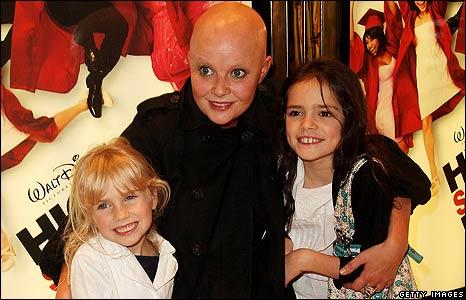 Gail Porter with children