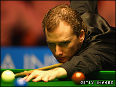 Scottish snooker star Graeme Dott