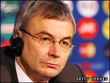 Uefa general secretary David Taylor