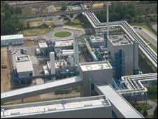 Schwarze Pumpe CCS plant in Germany