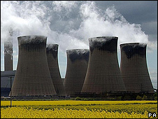 Drax coal-fired power station in UK