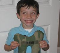Morgan, hijo de un soldado muerto en Irak