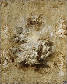Detail of The Apotheosis of James I