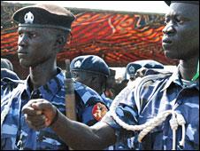 Police in southern Sudan