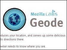 Mozilla's Geode