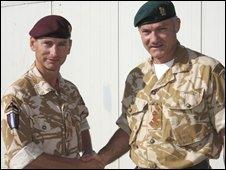 Mark Carleton-Smith and Gordon Messenger