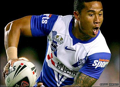 Samoa playmaker Ben Roberts