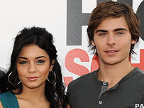 Zac Efron with Vanessa Hudgens