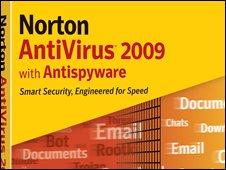 Norton Antivirus product box