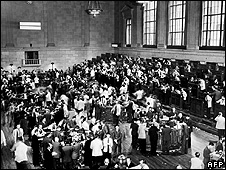 Traders on Wall Street, circa 1929