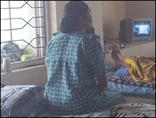 Pregnant surrogate mother in Gujarat