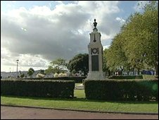 Torquay war memorial