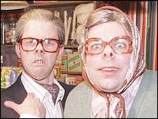 Reece Shearsmith and Steve Pemberton as Tubbs and Edward