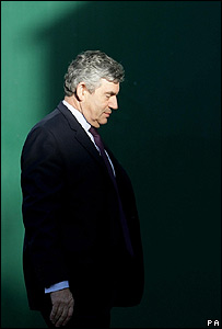 Gordon Brown, primer ministro brit�nico.