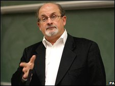 Sir Salman Rushdie at University College Dublin